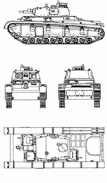 Данный танк появился на свет в 1932 году и по своей концепции напоминал советские Т-28, Т-35 и английский танк...
